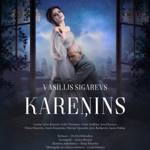Karenin (poster, theatre Daile, 2019)