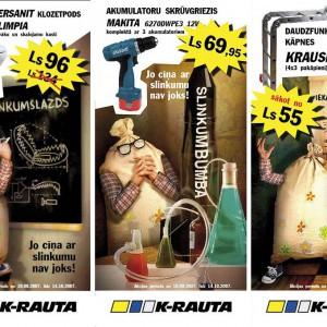 K-Rauta - Cīņa ar slinkumu