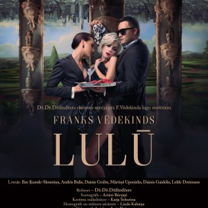 Lulu (poster, theatre Daile, 2018)